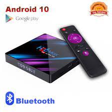TVBOX Bluetooth xịn mới Android 10 H96MAX 2G, Tivibox giúp TV truy cập  internet, youtube, game