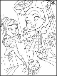 | vampirina coloring book pages ▶ subscribe for more new coloring videos everyday. Get This Vampirina Coloring Pages Vampirina And Friends Playing Together