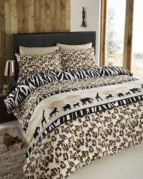 animal print quilt covers