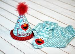 Birthday Party Hat Diaper Cover Tie First Birthday Smash Cake