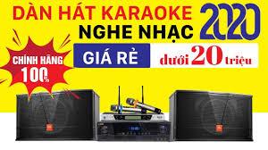 TOP 1 Dàn karaoke Dưới 20 triệu - Giá Rẻ, Cao Cấp, loa JBL Mỹ, Amply karaoke  Nhật Bản - YouTube