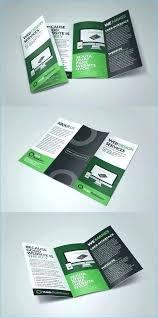 Leaflet On Word Best Fold Program Template Word With Blank Brochure Leaflet