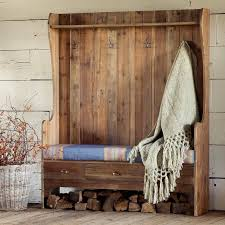 Coat Racks With Benches Delectable 32 Organized Hallways With Beautiful Coat Rack Bench Rilane