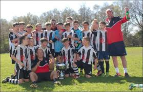 undefeated fleur de lys under 13s celebrate winning every match of their