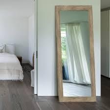 floor mirror. Areli Weathered Sand Barnwood Wall Mirror Floor Mirror