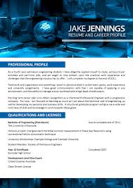 Engineering Resume Template 025