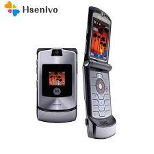 100% разблокированный оригинальный <b>Motorola</b> Razr V3i флип ...