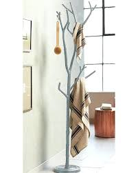branch coat rack silver tree racks .