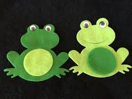 tree frog template felt frog craft kits diy kits for parties and school boy etsy