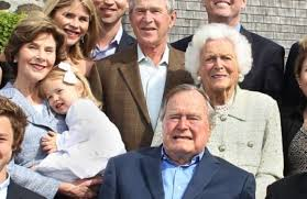 Image result for barbara bush and her family