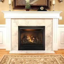 corner ventless gas fireplace corner fireplace