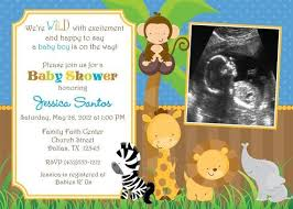 baby shower zoo animals. Plain Baby Zoo Themed Baby Shower Invitations  THERUNTIME Throughout Animals Y