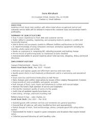 Free Hotel Receptionist Resume Template | Sample | Ms Word