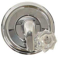 single handle valve trim kit in chrome for delta tub shower faucets valve