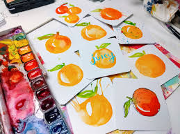 watercolor techniques for beginners 9 ways to paint an orange