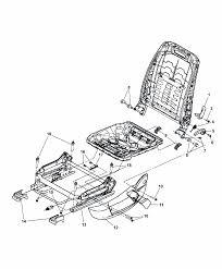 2007 chrysler 300 seats attaching parts manual seat diagram i2164484