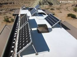 23 best rv solar power images on mounting solar panels on roof