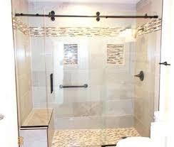 shower doors euro glass sliding door sweep frameless 36 in bottom with drip rail