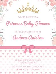Baby Shower Invitations With Photo Template Magdalene