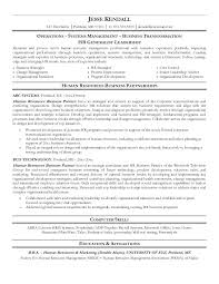 Human Resource Resume Human Resources Resume Objective Examples Hr