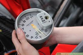 how to install a tachometer steps pictures wikihow image titled install a tachometer step 4