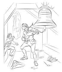 Liberty Bell America Coloring Page - History - Free Download ...