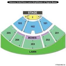 Virginia Beach Farm Bureau Live Seating Chart Va Beach Amphitheatre Seating Travel Guide