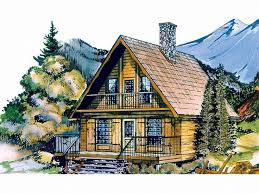 charming decoration chalet house plans mountain chalet plan 032h 0005