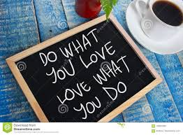 Do What You Love Motivational Text Stock Image Image Of Quote