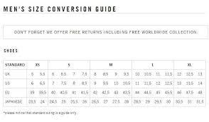 Abundant Balenciaga Shoe Sizing Chart Balenciaga Size Chart