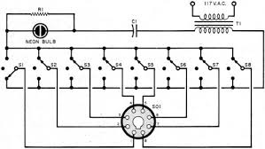 test instruments the tube tester popular electronics simplified schematic of noise testing circuit rf cafe