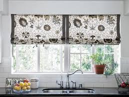 Kitchen Windows Creative Kitchen Window Treatments Hgtv Pictures Ideas Hgtv