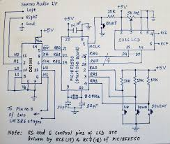 lm386 based stereo audio amplifier digital volume control circuit diagram of digital volume control unit for lm386