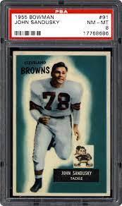 1955 Bowman John Sandusky | PSA CardFacts®