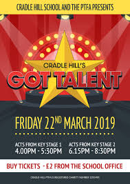 School Talent Show Poster Evie Garnett