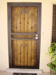 metal security screen door. Backyards Torres Welding Inc Security Screen Doors Las Door1 Regarding Sizing 1920 X 2560 Metal Door N