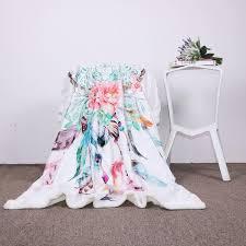 Dream Catcher Blankets Blankets Throws wolvestuff 73
