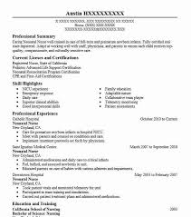nicu nurse resume template neonatal nurse resume sample resumes misc livecareer