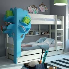 Kids Bed With Bookshelf Bedroom Appealing Bunk Bed Shelf For Unique Furniture Bed Design