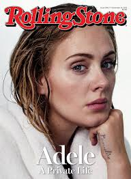 adele is on the cover of rolling stone magazine totally makeup free