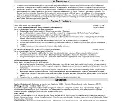 Nail Technician Resume Cover Letter Sample No Experience Computer