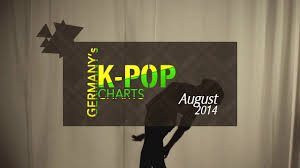 Pop Charts 2014 Germanys K Pop Charts August 2014
