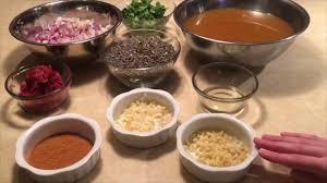 y ethiopian green lentil stew