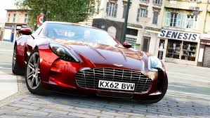 aston martin one 77 red. red aston martin one77 front view one 77