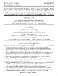 Elementary Education Resume Examples Fascinating Elementary Teacher Resume Examples 48 Fruityidea Resume