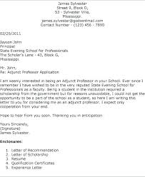 Sample Cover Letter For Teaching Position At University Cover Letter ...
