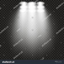 Stadium Lights Effect Stadium Lights Effect On Transparent Background Stock Vector