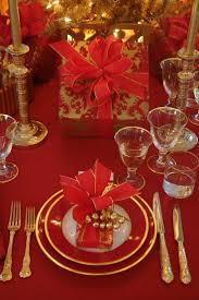Christmas Table Setting 53 Best Christmas Table Decorating Images On Pinterest Christmas