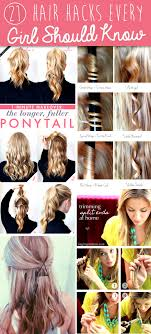 21 hair hacks every should know