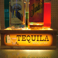 tequila lighted shot glass display bar sign 1 of 1only 2 available see more
